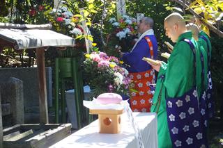 聖徳太子賛仰法要・組合員物故者追悼法要 千本釈迦堂